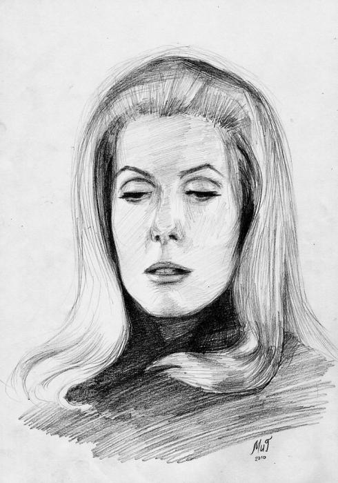 Catherine Deneuve by MikeNevermind